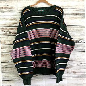 Vintage 90s American Eagle Striped Sweater